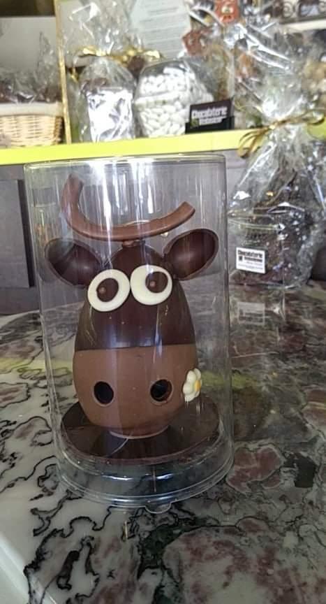 Vache Taille 1 Chocolat NOIR